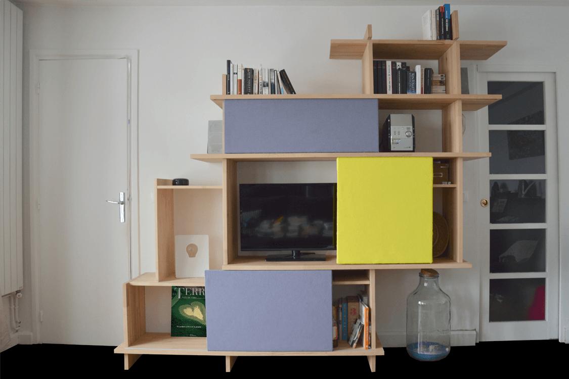 biblioth que contemporaine muni co. Black Bedroom Furniture Sets. Home Design Ideas